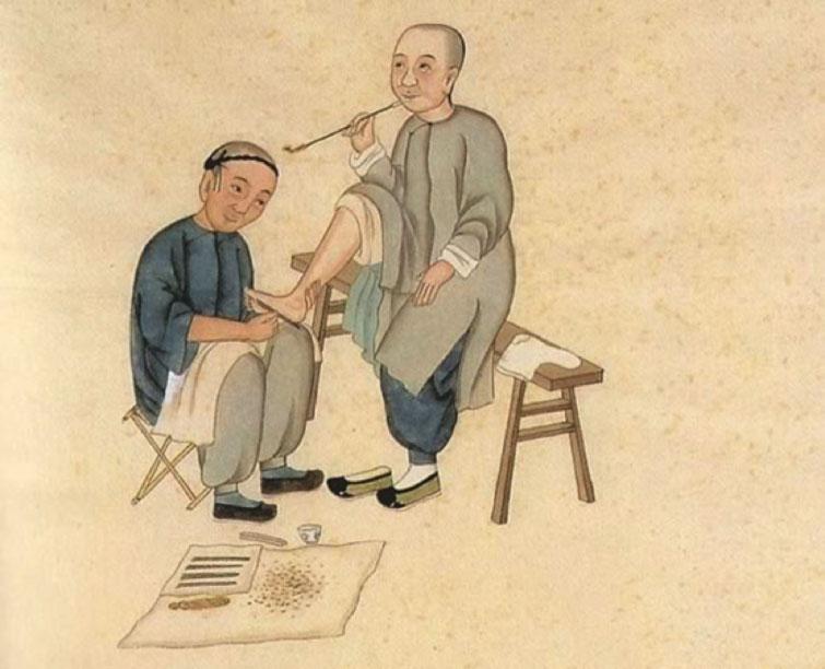réflexologie plantaire chine
